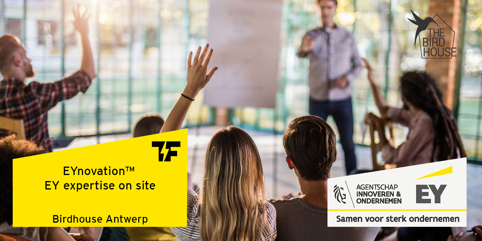 EY Expert Sessions - The Birdhouse Antwerp