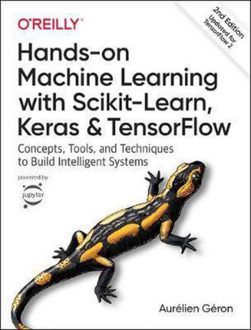 Boek cover hands on Machine Learning
