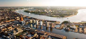 Antwerpen haven is een smart city