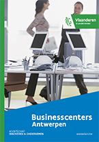 Cover brochure businesscenters in Antwerpen