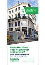 Cover folder hinder door wegenwerken